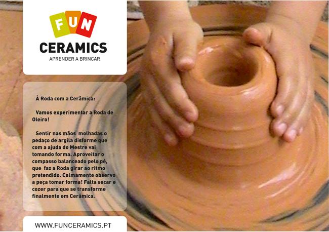 À Roda Com a Cerâmica